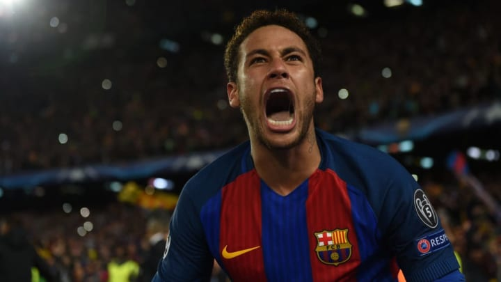 Neymar Barcelona Santos PSG Champions League Libertadores