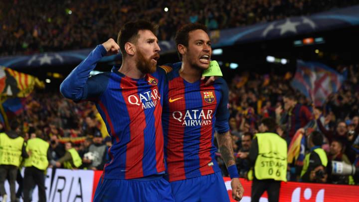 Lionel Messi und Neymar vereint beim FC Barcelona