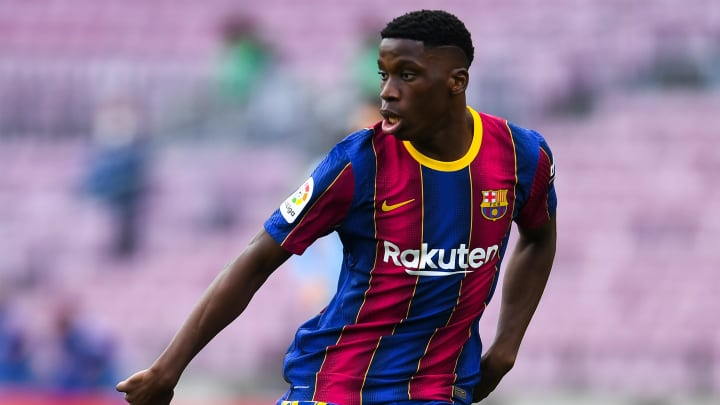 Barcelona are open to selling Ilaix Moriba this summer