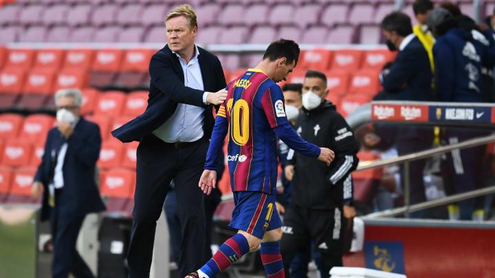 Koeman podría ser despedido del Barça