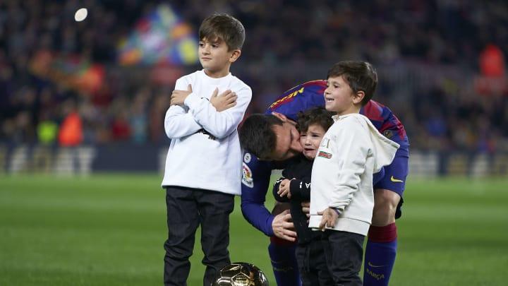 Lionel Messi, Ciro Messi, Mateo Messi, Thiago Messi