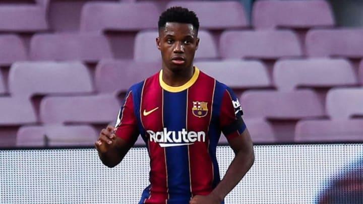 Ansu Fati Barcelona LaLiga Ronald Koeman