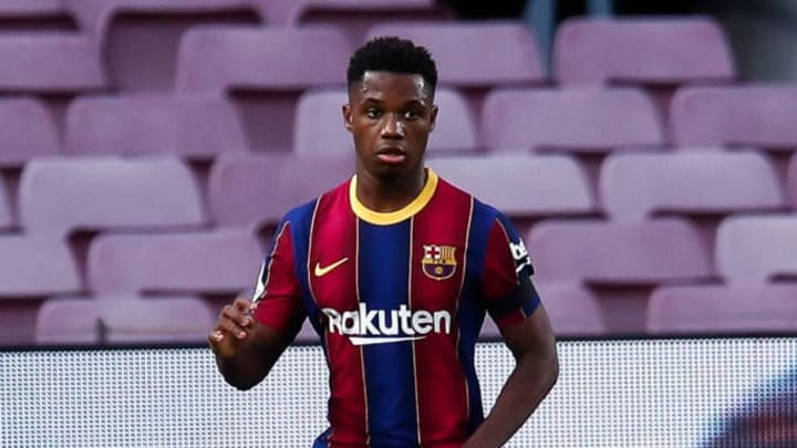 Ansu Fati ya es del primer equipo del Barcelona