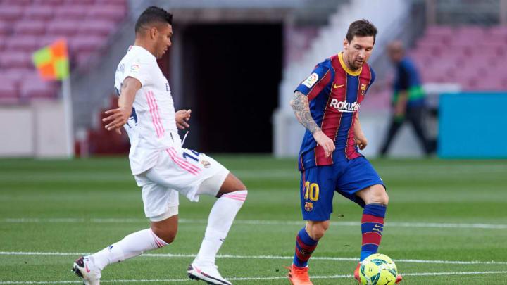 Lionel Messi, Carlos Casemiro