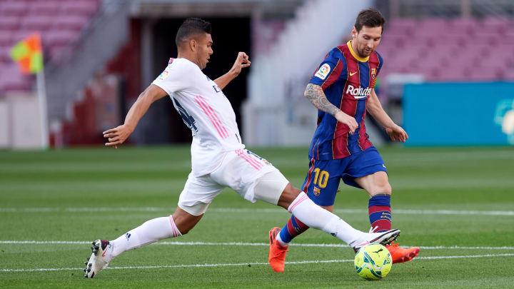 Carlos Casemiro, Lionel Messi
