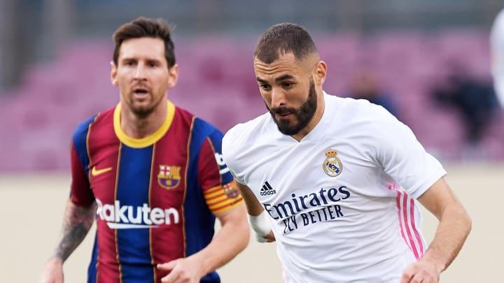 Messi und Benzema stehen beim LaLiga POTM zur Wahl