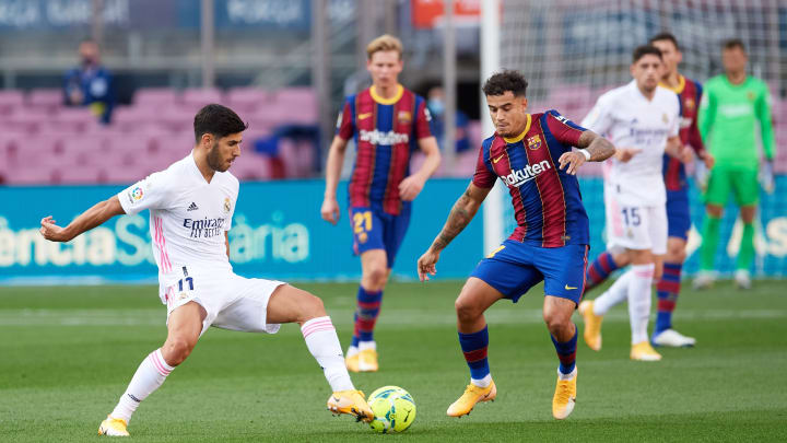 Marco Asensio, Philippe Coutinho