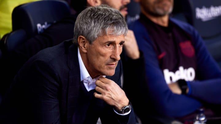 Würde sich über Rückkehr von Neymar freuen: Barça-Coach Quique Setién