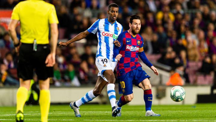 Alexander Isak, Lionel Messi