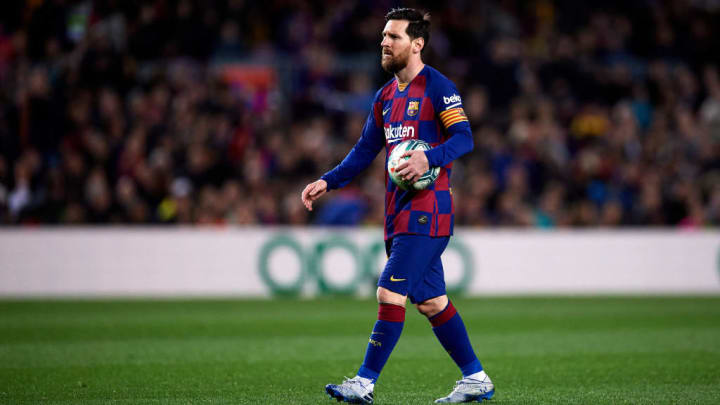 Lionel Messi revealed the Barca players were more than happy to take a 70% pay cut back in March