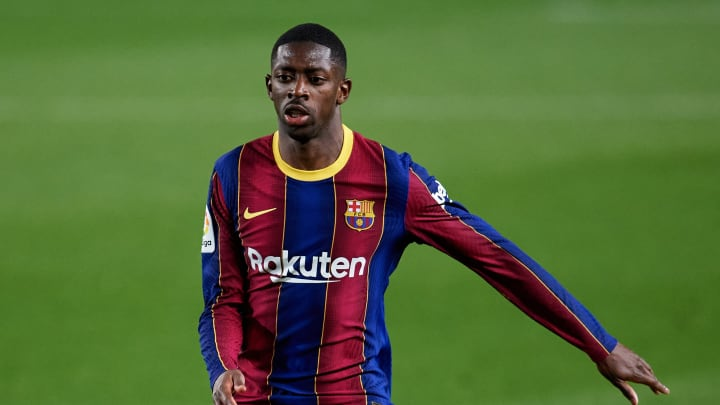 Ousmane Dembele has scored ten goals for Barcelona this season