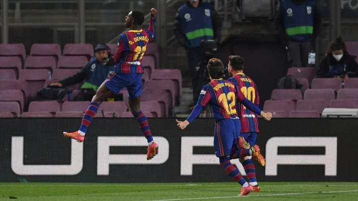 Match Results and Player Ratings: Barcelona 1-0 Valladolid - La Liga  2020/21 - Ruetir