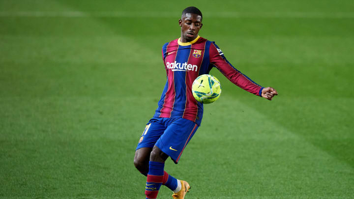 Ausgerechnet er sorgte dafür, dass Barcelona zumindest noch einen Punkt retten konnte: Ousmane Dembélé
