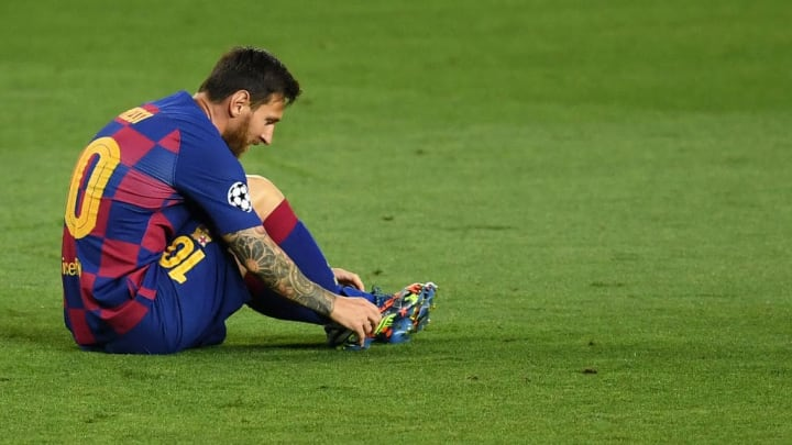 Messi was at his magnificent best against Napoli on Saturday