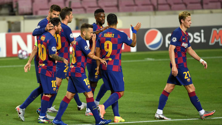 Barcelona 3 1 Napoli 4 2 Agg Player Ratings As Lionel Messi Runs The Show Again