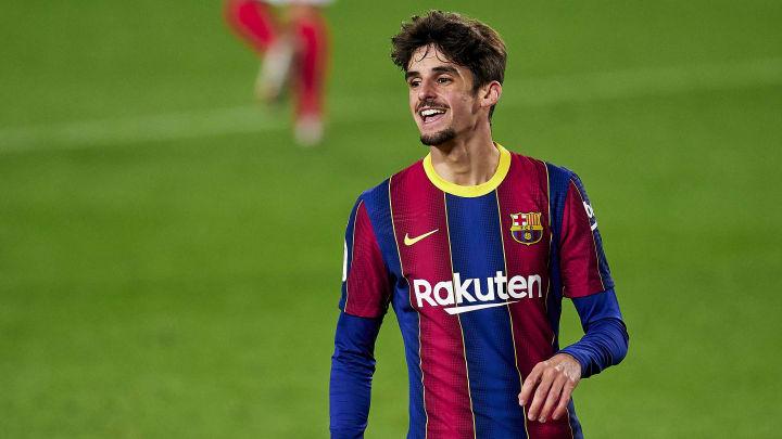 Trincao est en manque de temps de jeu avec le Barça.