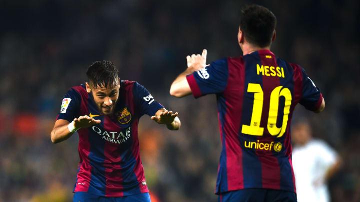 Lionel Messi aimerait convaincre Neymar de revenir à Barcelone