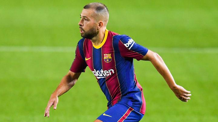 Jordi Alba has suffered a hamstring injury