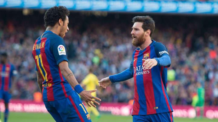 PSG plant eine Wiedervereinigung von Neymar und Messi