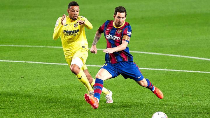 Villarreal Barcelona Messi