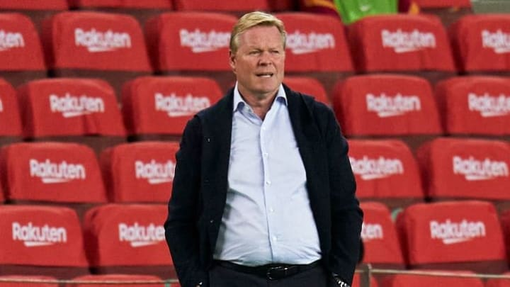 Ronald Koeman will have to overcome Juventus if his side is to top the grou[