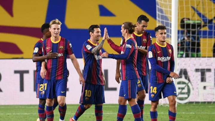 Lionel Messi, Antoine Griezmann, Philippe Coutinho
