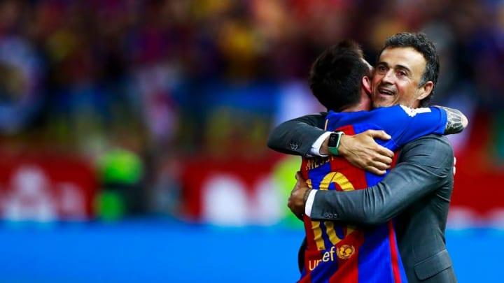 Luis Enrique Martinez, Lionel Messi