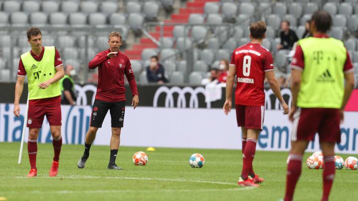 Der FC Bayern tritt im Pokal an