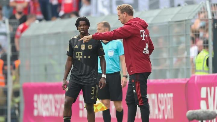 Julian Nagelsmann hat sein erstes Spiel mit dem FC Bayern verloren