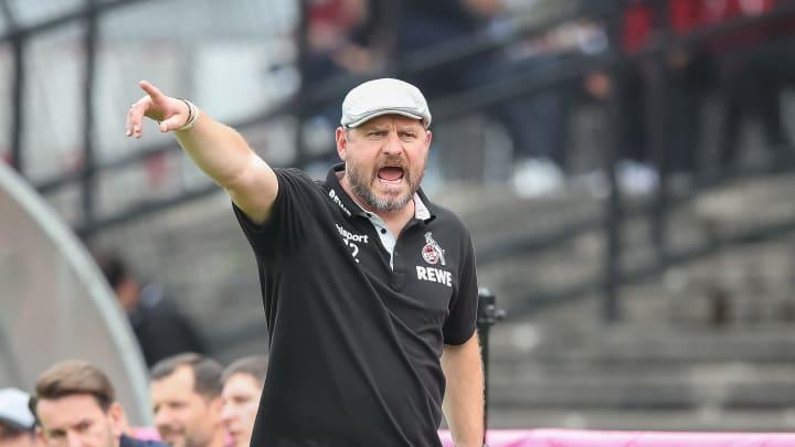Übernahm vor einigen Wochen den Trainerposten in Köln: Steffen Baumgart