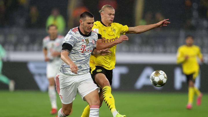 Niklas Süle hat sich packende Zweikämpfe mit Erling Haaland geliefert