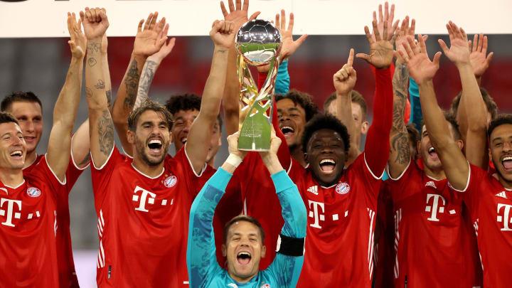 Bayern Munich lift the domestic Super Cup
