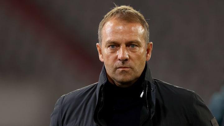 Mit der Kaderplanung kann Bayern-Trainer Hansi Flick nicht zufrieden sein