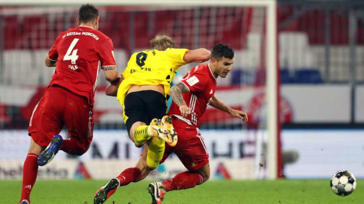 Niklas Süle und Lucas Hernandez könnten für Benjamin Pavard und David Alaba in die Startelf rücken (v.l.)