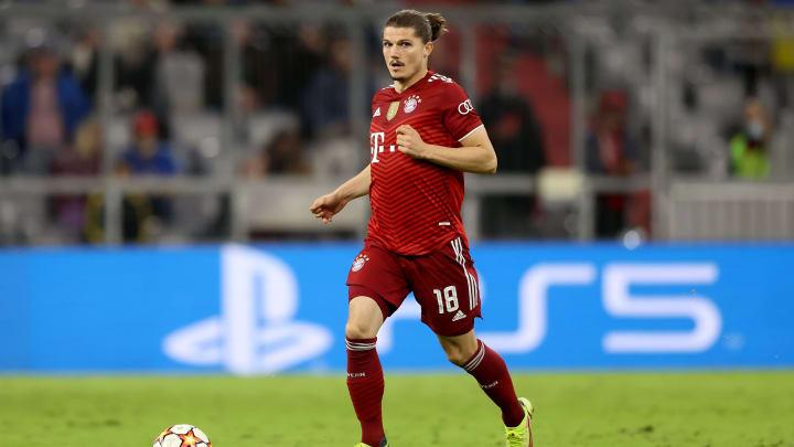 Sabitzer im Trikot vom FC Bayern München: Ein noch immer etwas ungewohntes Bild: