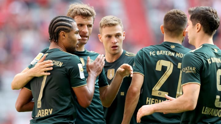 Bayern have started the season in terrific form