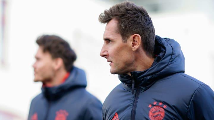 Miroslav Klose absolviert ein Praktikum in Italien