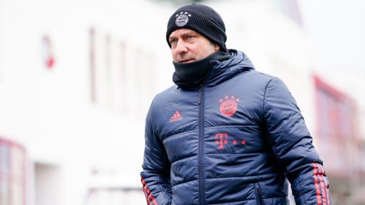Hat in dieser Saison einen echten Knochenjob: Bayern-Trainer Hansi Flick