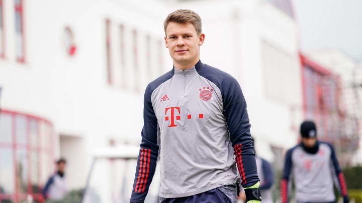 Viel trainieren, wenig spielen - der Alltag von Alexander Nübel beim FC Bayern