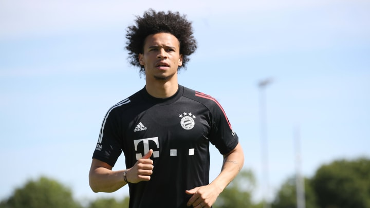 Ein noch immer ungewohnter Anblick: Leroy Sané im Bayern-Dress