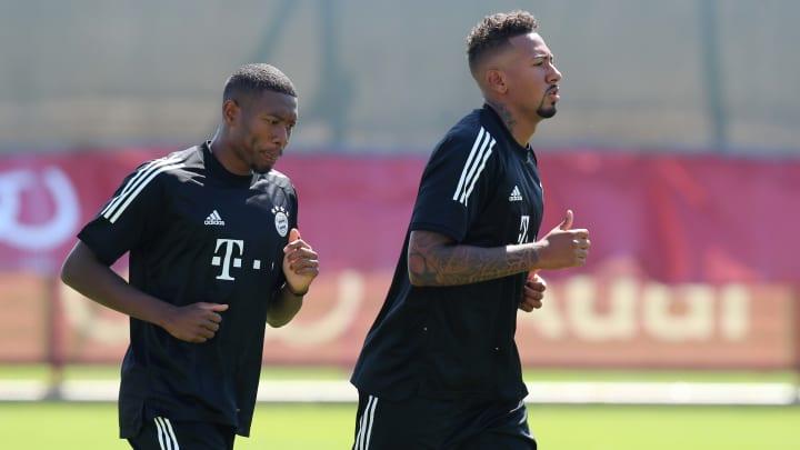 David Alaba (l.) und Jerome Boateng.