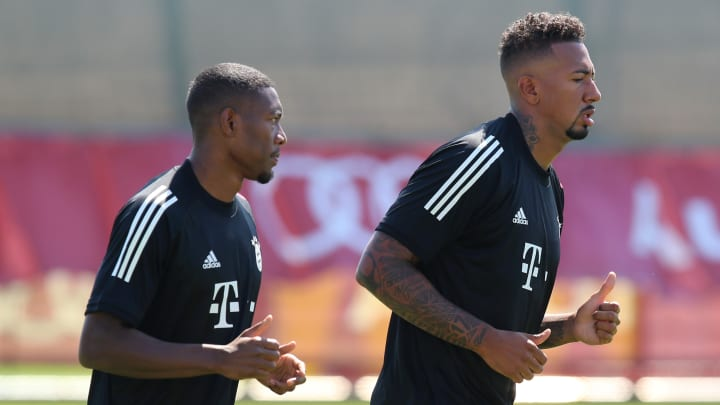 Jerome Boateng, David Alaba
