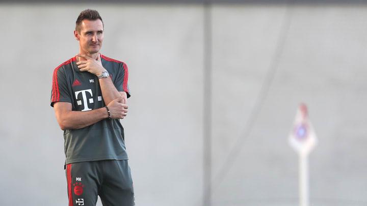 Miroslav Klose soll ein U21-Nationaltrainer-Kandidat sein