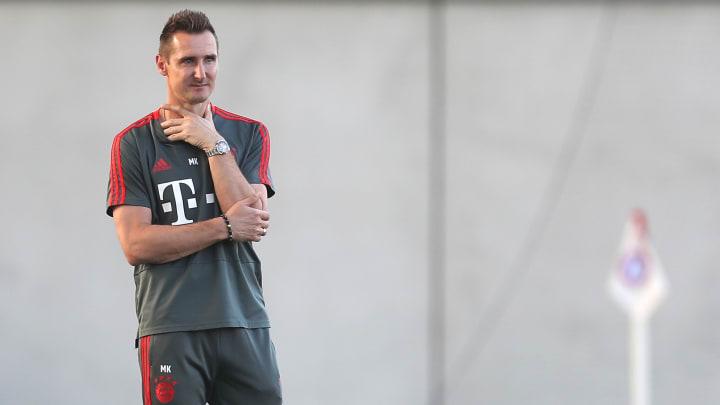 Miroslav Klose ist bereit für den ersten Job als Cheftrainer
