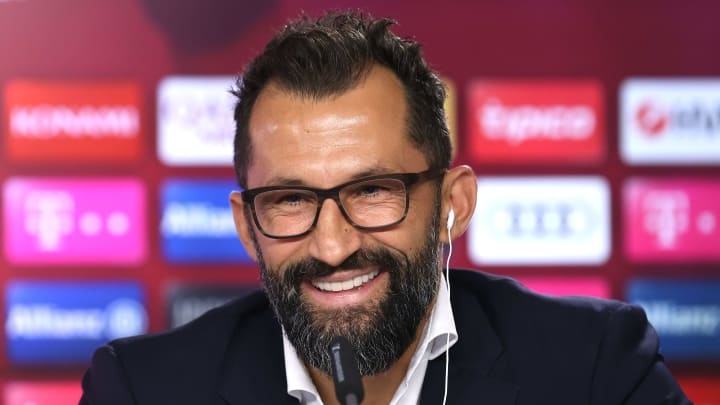 Zeigt sich mit seinen Transfers zufrieden: Hasan Salihamidzic