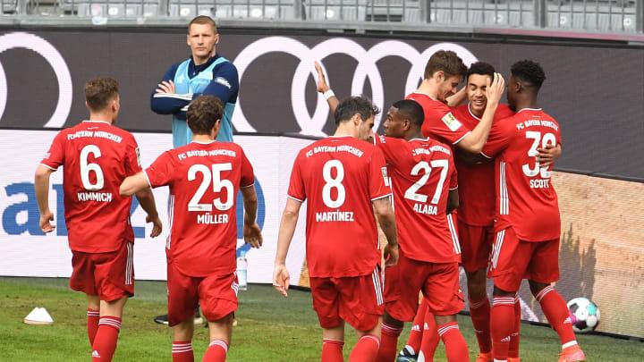 Jamal Musiala nutzte seine Startelfchance eindrucksvoll. So schlugen sich die anderen Bayern-Youngster.