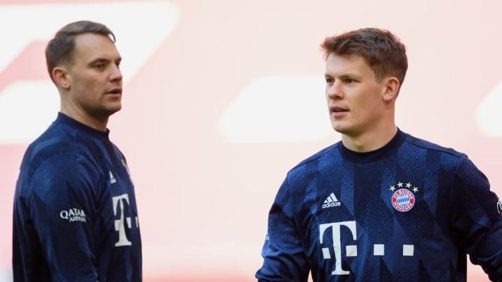 Manuel Neuer, Alexander Nübel