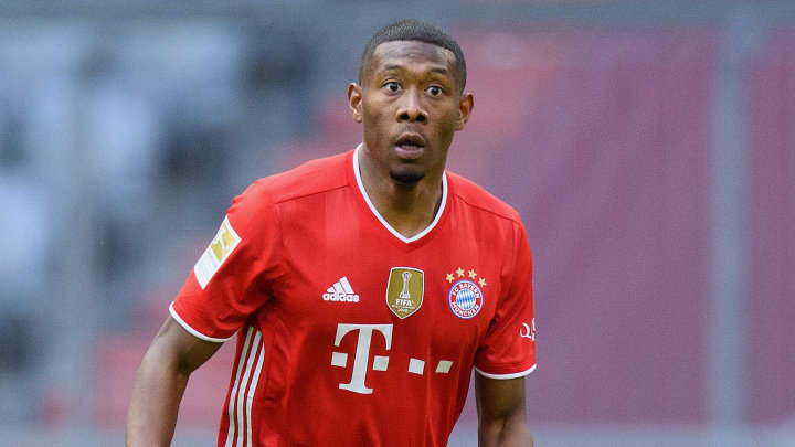 Alaba left Bayern when his contract expired in June