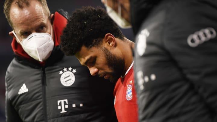 Serge Gnabry droht das Auswärtsspiel des FC Bayern bei Borussia Mönchengladbach zu verpassen