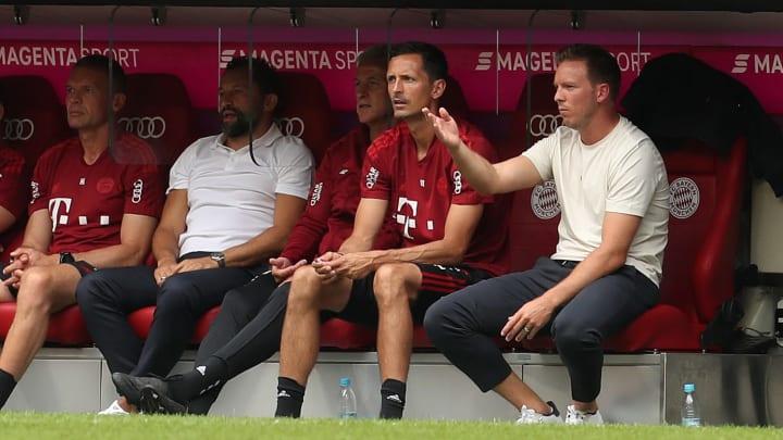 Julian Nagelsmann musste mit dem FC Bayern erneut eine Pleite hinnehmen